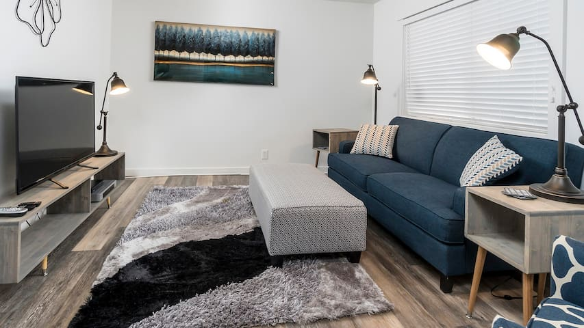 Modern & Freshly Decorated, Pet friendly w/Laundry in-Unit! SPA#123