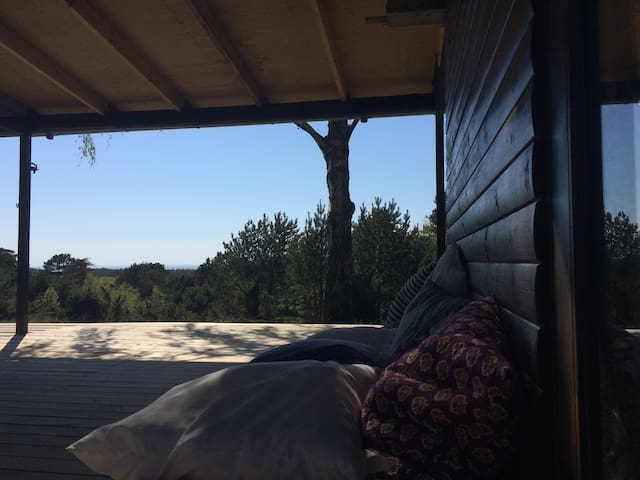 Anholt sommerhus med udsigt
