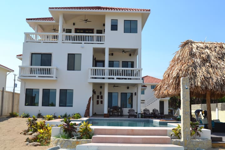 5 BEDROOM BEACH FRONT HOME WITH POOL