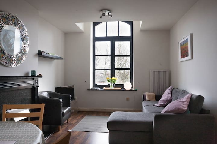 Stylish Victorian conversion 3rd fl - Dublin - Apartment