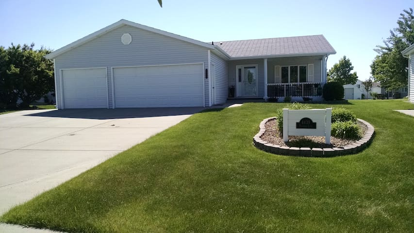 Home located near the east exit of Bismarck.