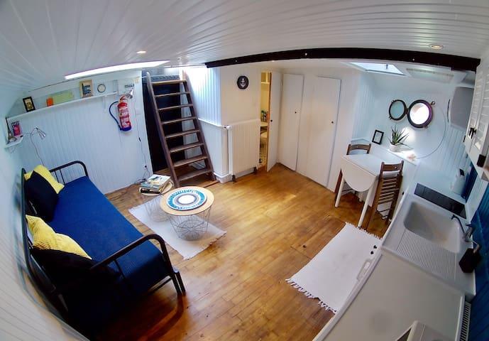 Intérieur du studio