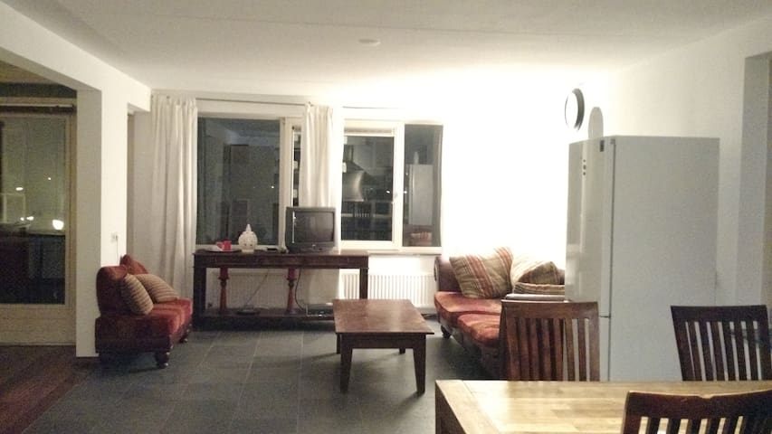 Two beds in Unusually Spacious Apt - Amsterdam - Wohnung