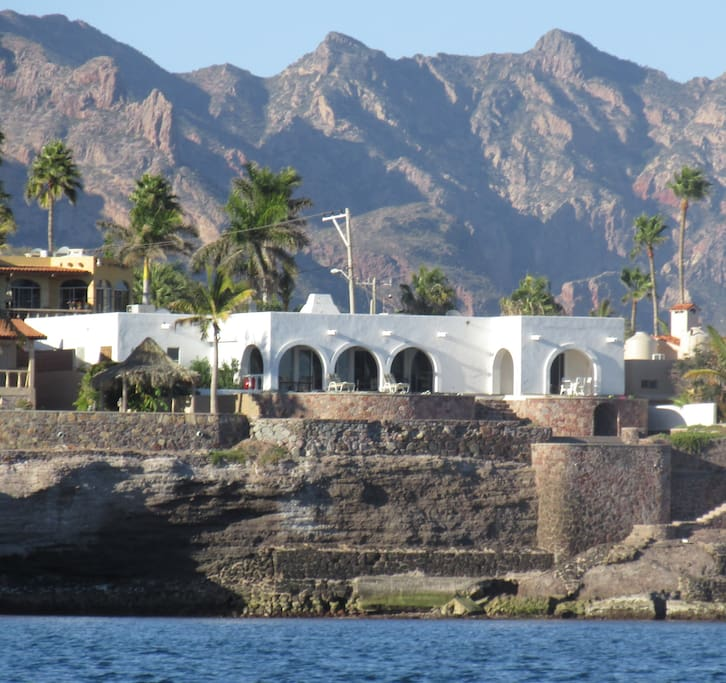 View of Hacienda from the sea.