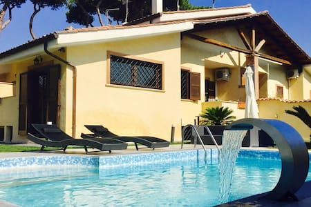 *Villa with swimming pool in Rome* - Acilia-castel Fusano-ostia Antica