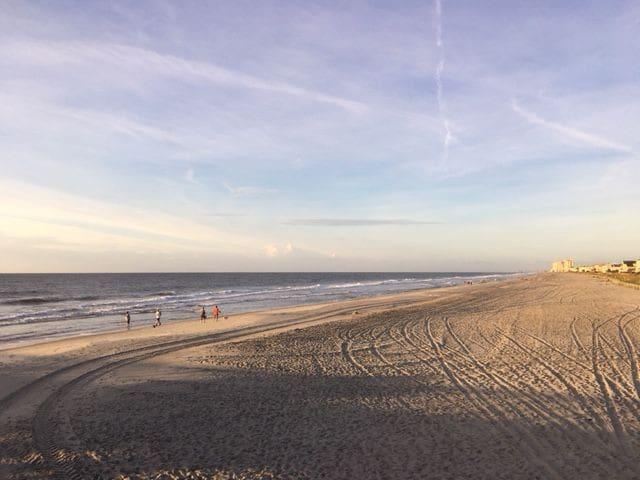 Nice wide beaches