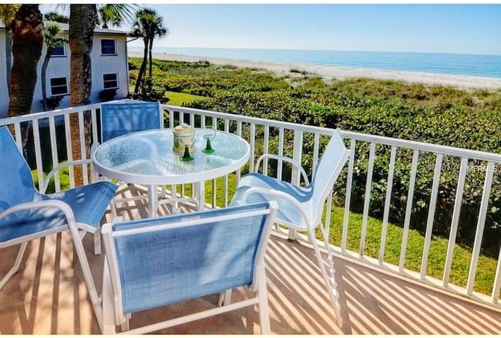 Beachfront Oasis Ocean View Longboat Key