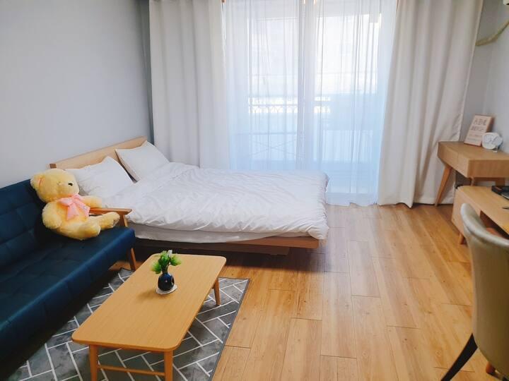 세종시 조치원 211♡♡ 홍대 고대 근처 오피스텔형 아파트 ♡ 풀옵션 인터넷 호텔형 침구