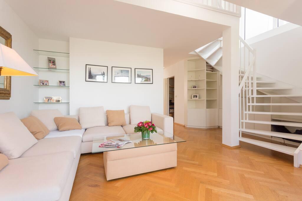 zentrale 140m wohnung taubstummengasse terrasse wohnungen zur miete in wien wien sterreich. Black Bedroom Furniture Sets. Home Design Ideas