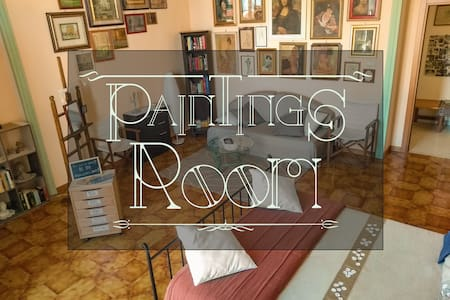 PAINTINGS ROOM A fighter-painter life story