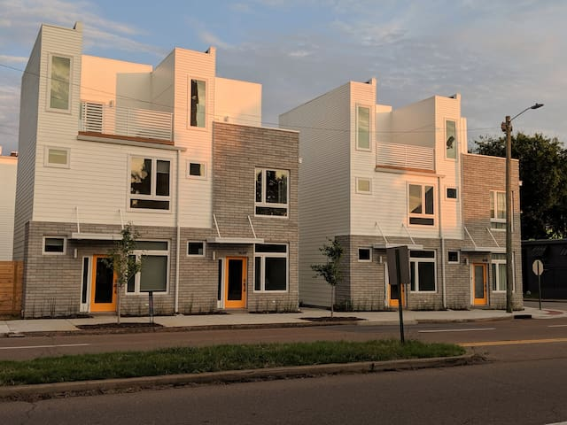 Stay Downtown in a Brand New Southside Townhouse