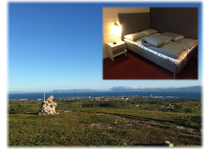 Myrullveien 8, Vadsø - single/double room - Vadso - Bed & Breakfast