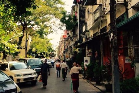 Lovely apartment in Downtown Yangon - Янгон - Квартира