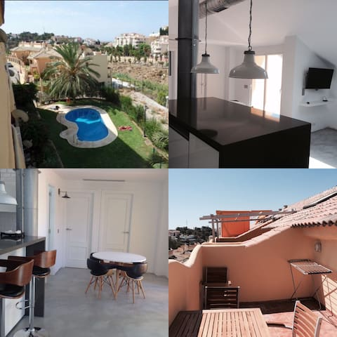new ático  Fuengirola with pool - Fuengirola - Loft