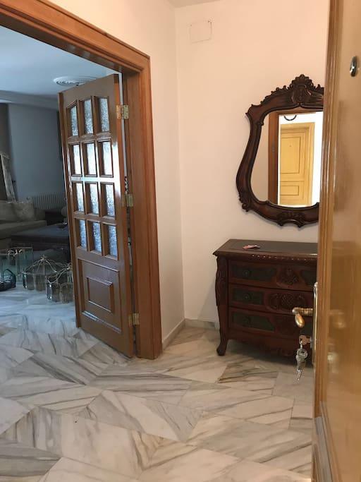 Entrance inside Apartment
