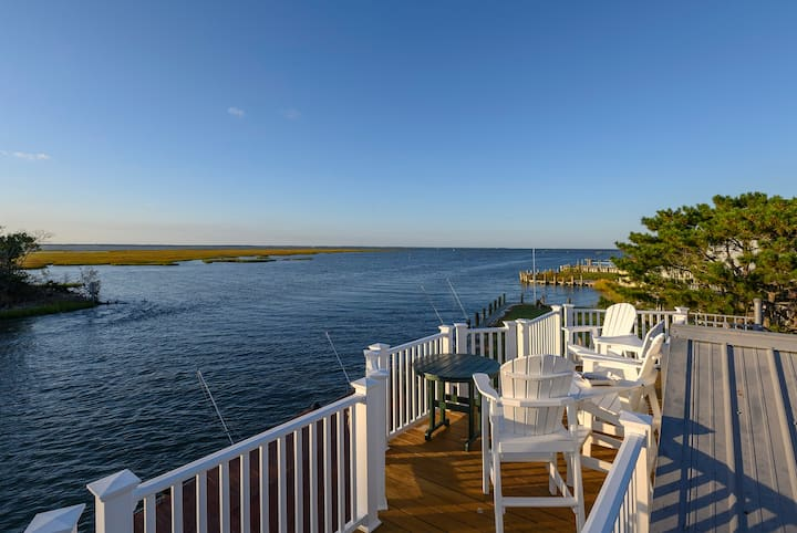 Egret`s Landing is a one-of-a-kind Waterfront Vacation Experience. Located on deep water Lewis Creek.