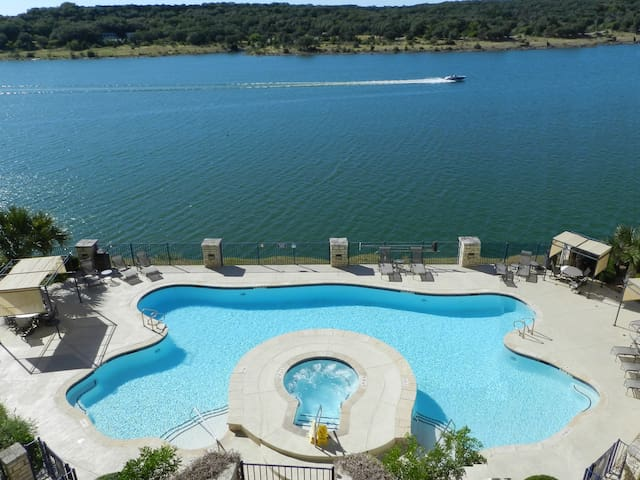 Lake front retreat at Island on Lake Travis - 1