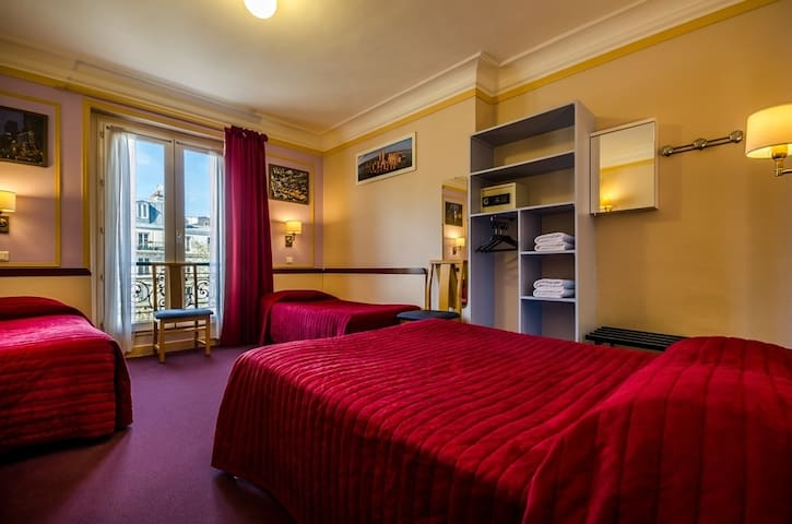 Family Bedroom for 4 persons - Montmartre