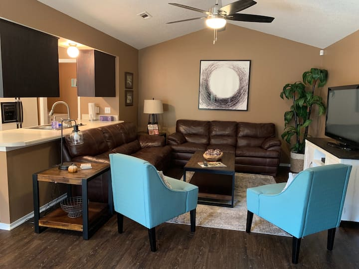 Relaxing cozy duplex in NWA