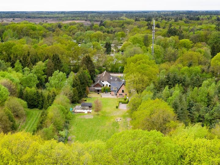 Luxe familie villa in het hart van De Veluwe