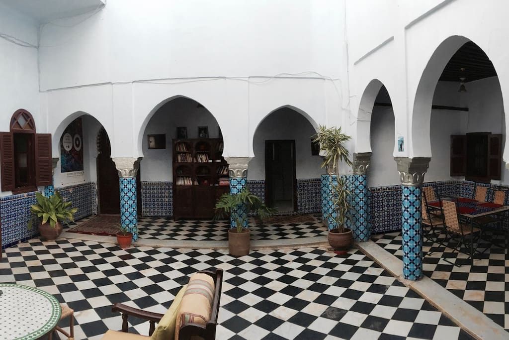 Traditional Riad In The Medina Houses For Rent In Rabat Rabat Sal Zemmour Za R Morocco