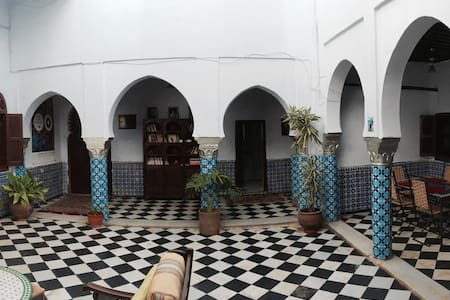 Traditional Riad in the Medina - ราบัต - บ้าน