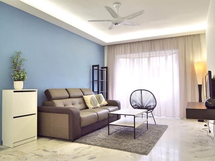 特價 !Low rate 3 rooms apartment in Melaka Town