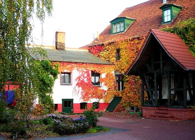 Ferienwohnung auf ehem. Bauernhof Nähe Schorfheide - Liebenwalde - Apartament
