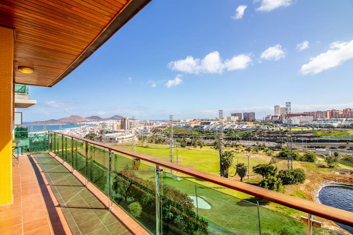 Ramblas Golf 6B -  Amazing Views, Pool & Gym