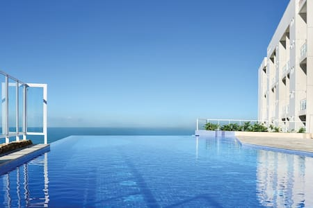 Maravilhosa Vista do Mar_Aconchegante Apartamento - グアルジャ - アパート