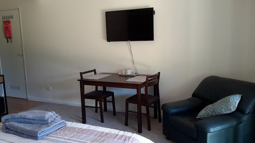 Dining table and reading chair