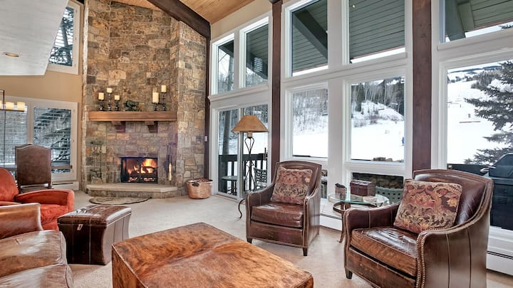Luxe Ski in Ski Out Condo