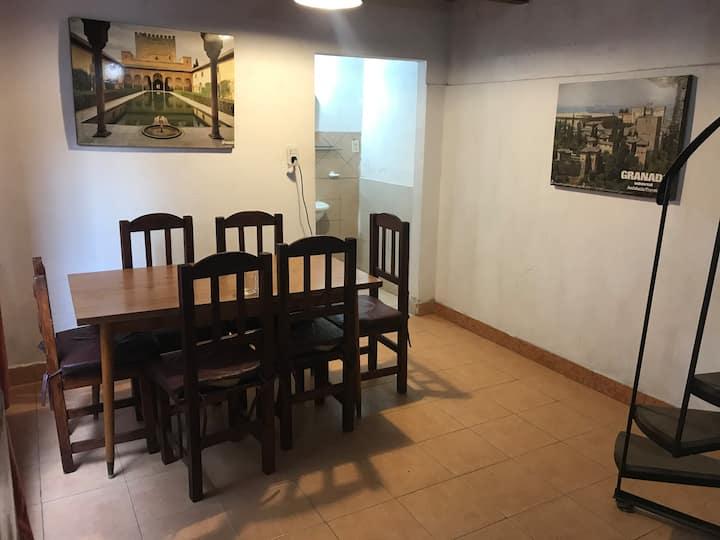 Rústico loft/estudio Villa Gesell zona centro