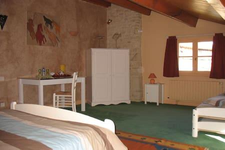 Chambre familiale Marais Poitevin - Coulon - Dům