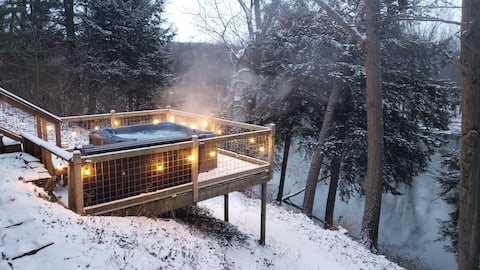 Fire & Water | Rejuvenating Stay on the Riverbend