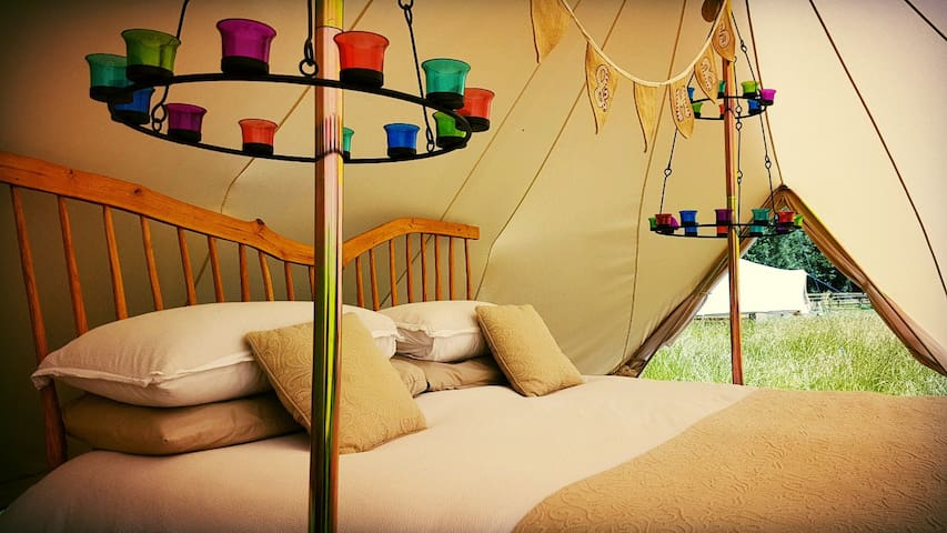 Luxury Glamping near Ely with Six Acres & Lake
