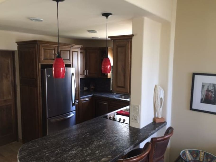 All new electric kitchen