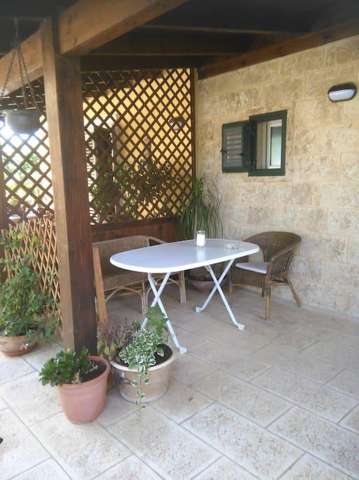 Veranda appartamento Grecale
