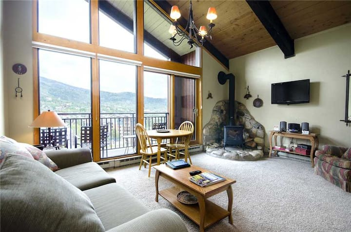 W3537 by Mountain Resorts ~ Walk to Mountain Village, OUTDOOR POOL, Exceptional Views