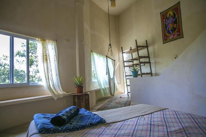 casa Bacalar cuarto privado o compartido