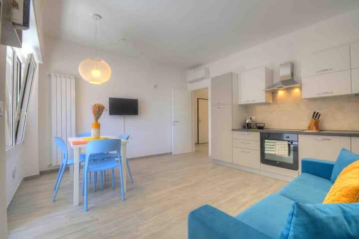Appartamento nuovo a 20 mt. dal mare e dal centro