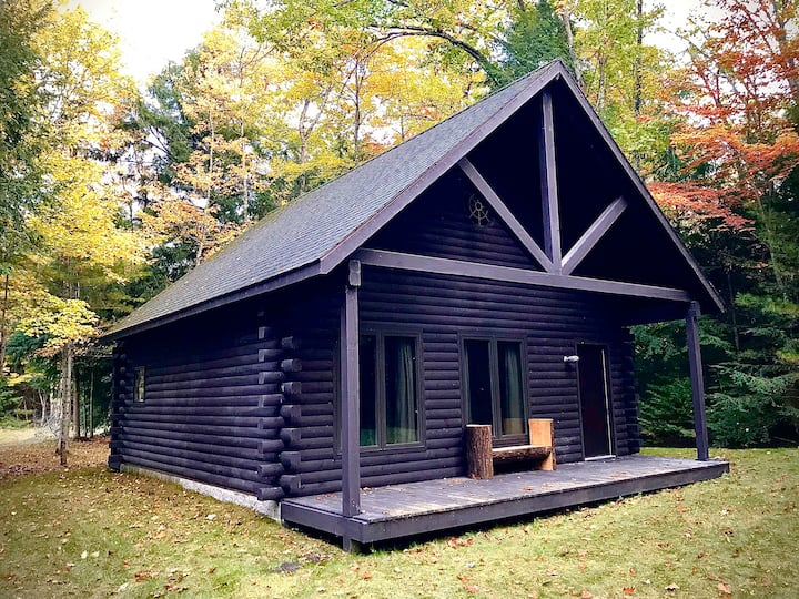 Cosy log cabin nestled in Hiawatha National Forest
