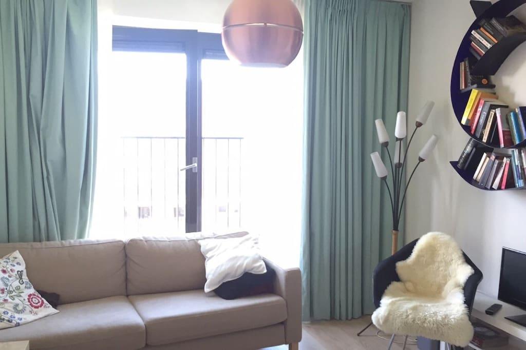 Light space with big window