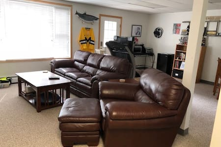Negaunee one bedroom walk out apartment