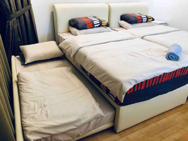 1 pull out bed