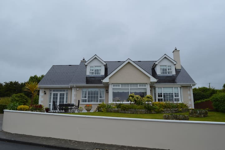 Modern home overlooking Lough Swilly