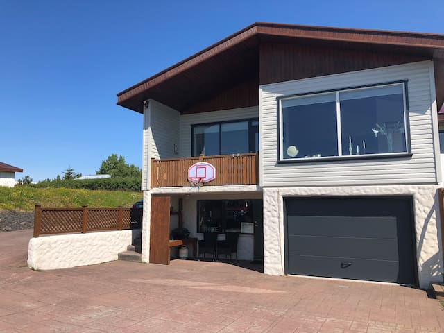 First house in Keflavík, 3 km from Kef airport
