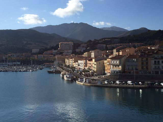 Sunny Loft - amazing view and close to Collioure