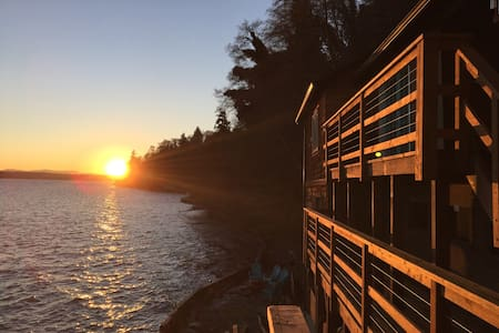 The Lookout Cabin - Vashon - Dom