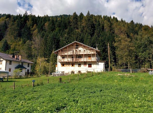Appartamento in casa storica dolomiti